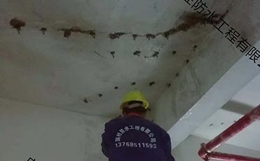 楼顶堵漏施工